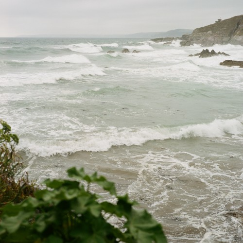 Going off grid: Freathy Cliff, Cornwall