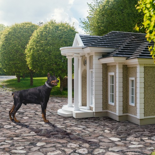 The world's most luxurious dog manors