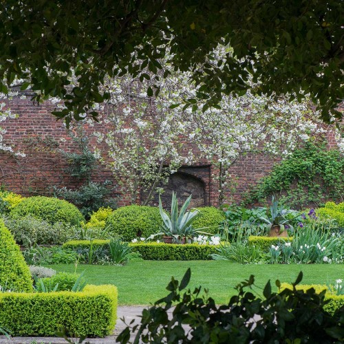 See inside the Charterhouse gardens