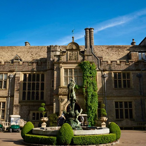 Where to stay: Bovey Castle, Devon
