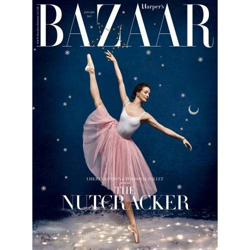 The Harper's Bazaar and Liberty Christmas collaboration