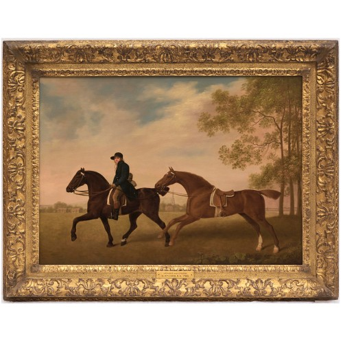 Rediscovered Stubbs painting on sale at BADA