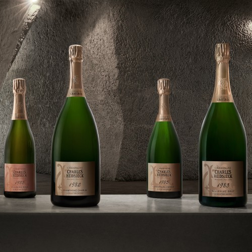 Christie's launches sale of rare Charles Heidsieck Champagne