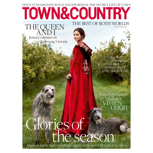Jenna Coleman stars in our autumn issue