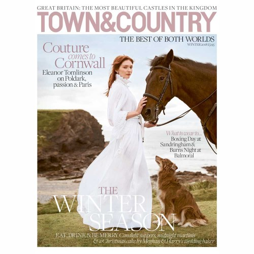 Eleanor Tomlinson stars in T&C's winter issue