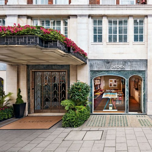 Taschen opens at Claridge's