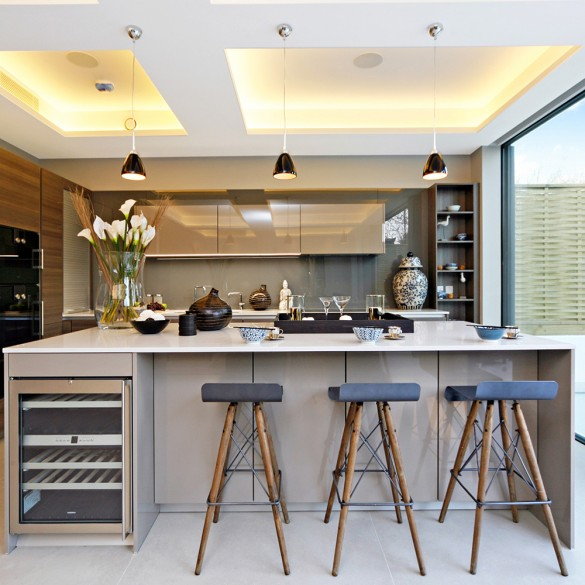homes for sale with amazing kitchens kitchen design ideas town country magazine uk